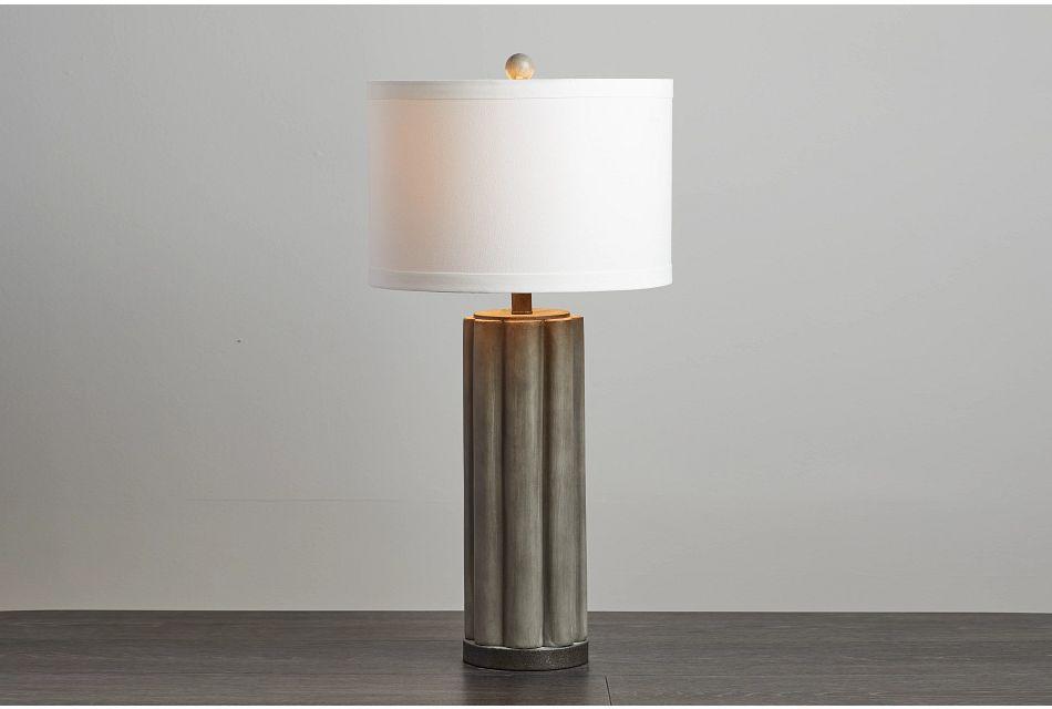 Brighton Gray  Table Lamp,  (0)