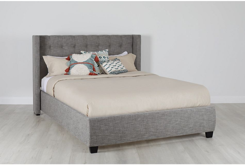 Chatham Pewter Low Platform Bed, Queen (0)
