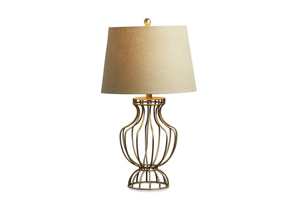Whitney Copper Table Lamp