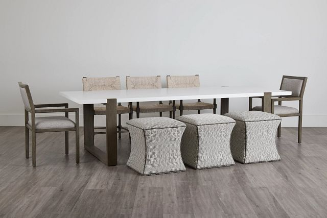 Hadleigh Two-tone Rectangular Table And Mixed Chairs (0)