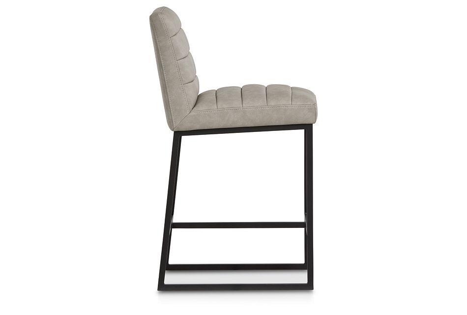 """Miller Light Gray 24"""" Upholstered Barstool"""