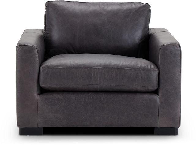 Bohan Black Leather Chair (3)