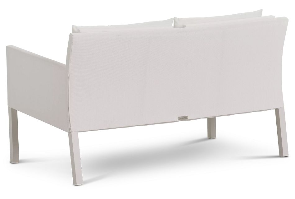 Lisbon2 White Sofa,  (3)