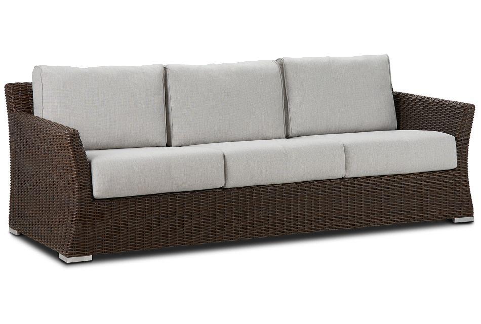 Southport Gray Woven Sofa