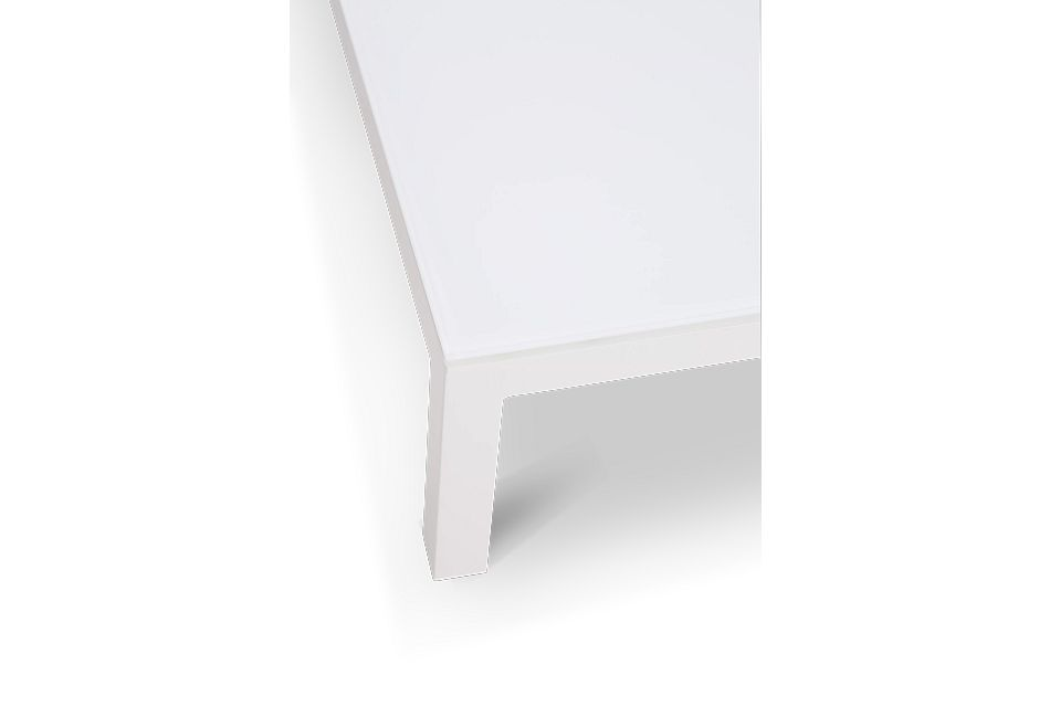 Lisbon2 White Coffee Table