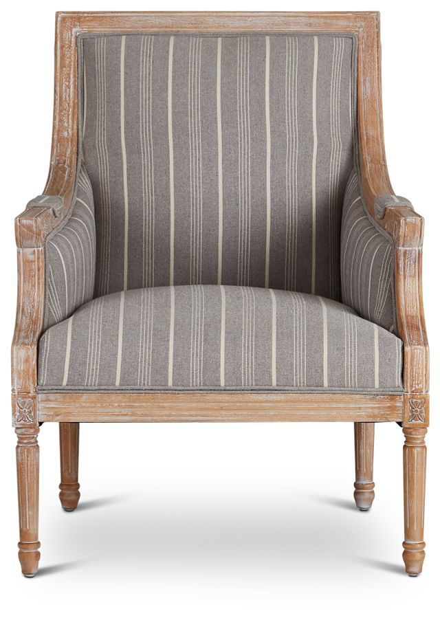Mckenna Multicolored Fabric Accent Chair (3)