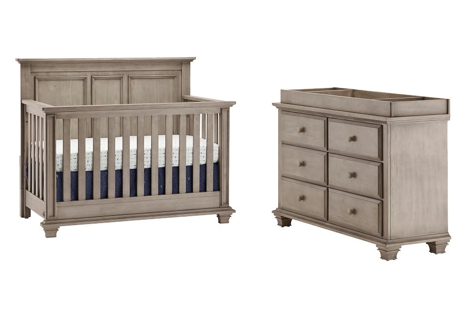 Kenilworth Light Tone Small Crib Bedroom