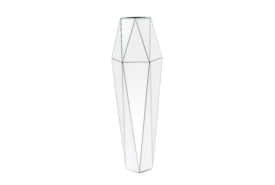 Lectra Silver Large Vase