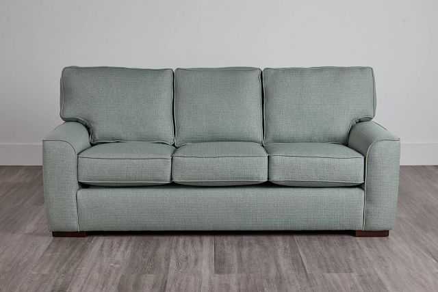 Austin Green Fabric Innerspring Sleeper (2)