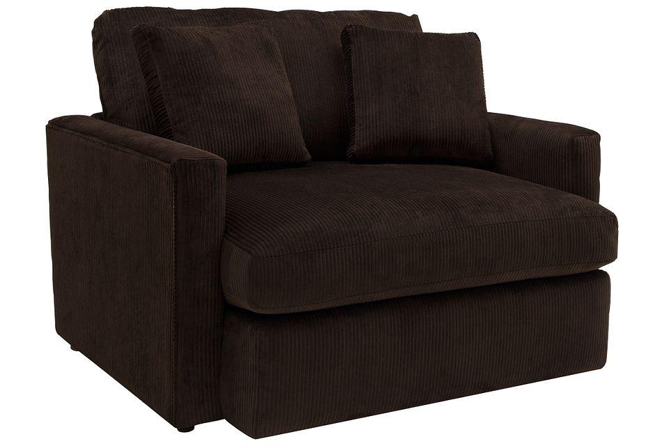 Tara2 Dark Brown  Micro Chair