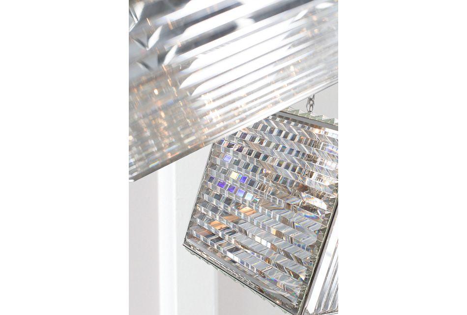 Cube Silver  Pendant,  (1)