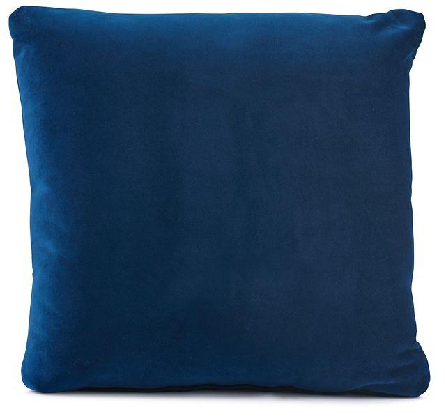 """Royale Blue 18"""" Square Accent Pillow (0)"""