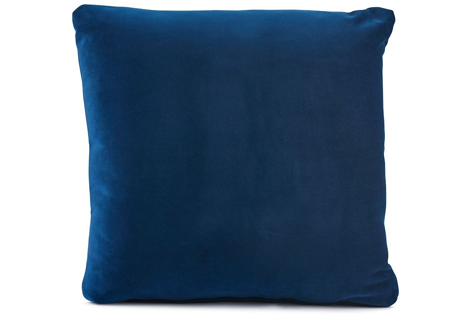 "Royale Blue 18"" Square Accent Pillow"