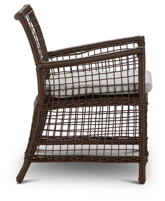 Southport Gray Woven Arm Chair (1)