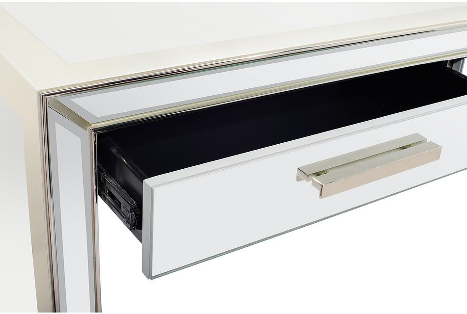 Monroe Mirrored  Console Table,  (2)