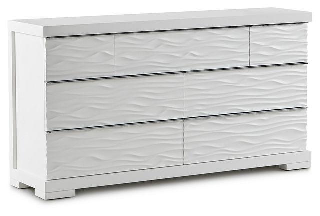 Ocean Drive White Dresser (2)