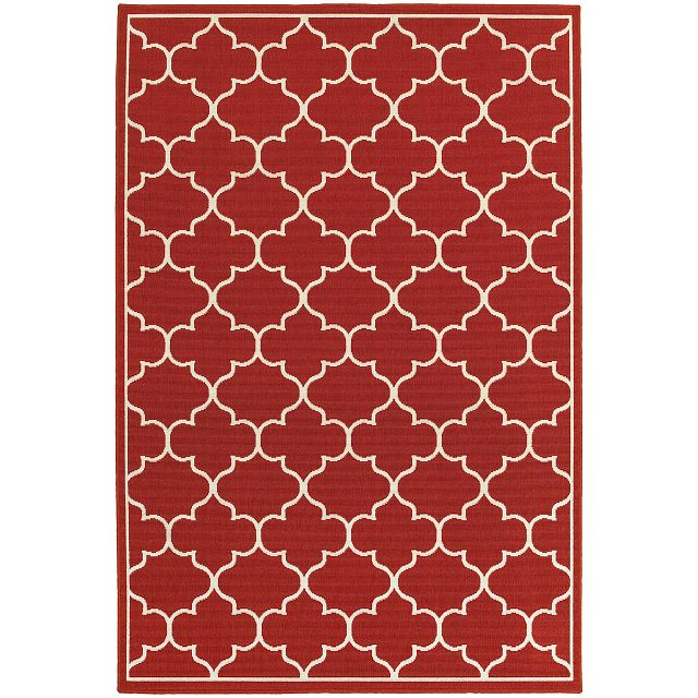 Melody Red Indoor/outdoor 8x10 Area Rug (0)