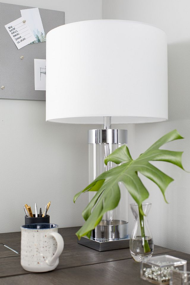 Lucia Chrome Small Table Lamp (3)