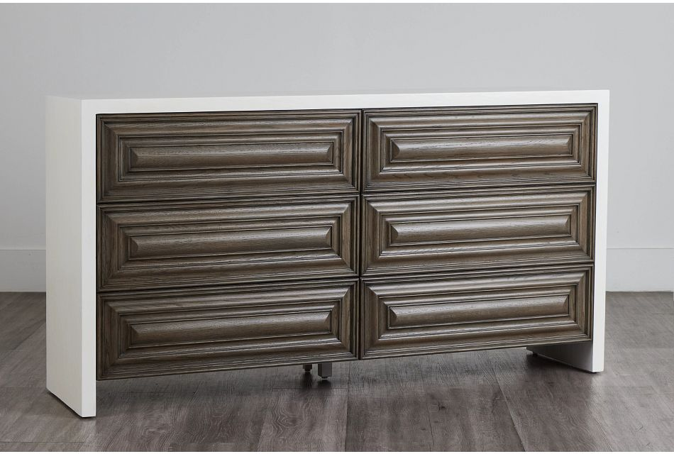 Goodman Light Tone Wood Dresser,  (0)