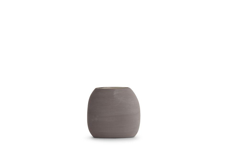 Faron Dark Gray Vase