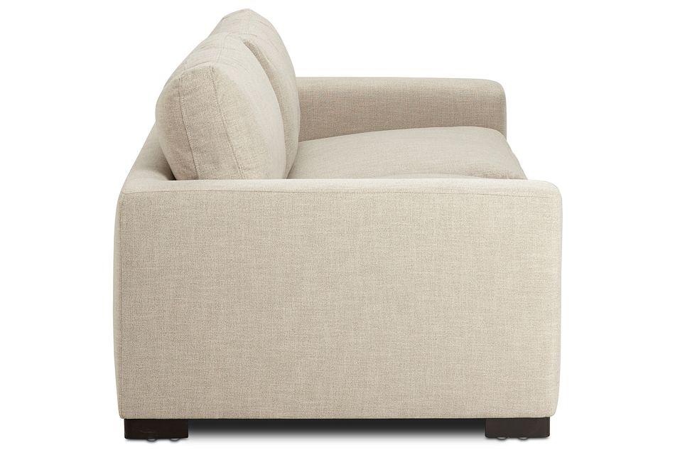 "Bohan 103"" Pewter Fabric Sofa,  (3)"