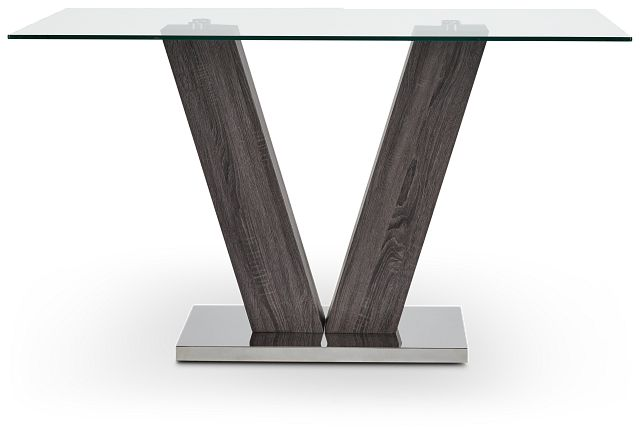 Kendall Glass High Dining Table (1)