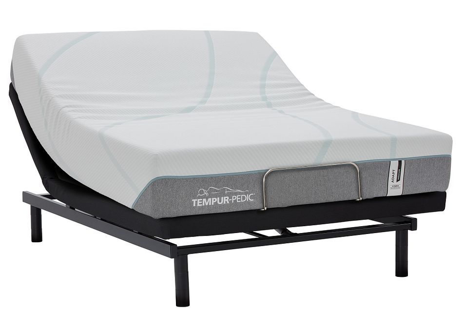 Tempur-adapt® Medium Hybrid Ease Adjustable Mattress Set