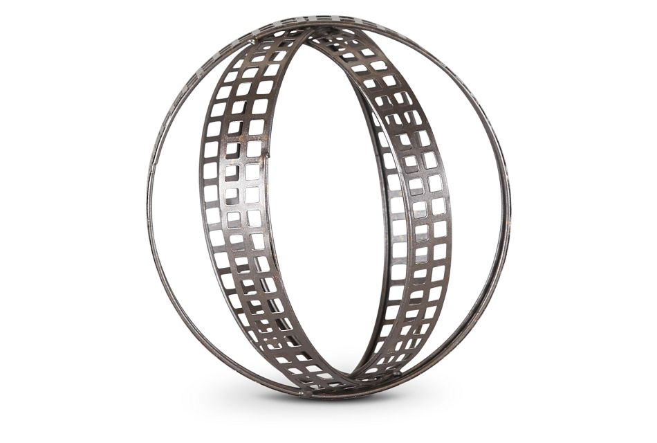 Coil Silver Large Tabletop Accessory