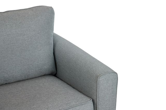 Ripley Light Blue Fabric Chair