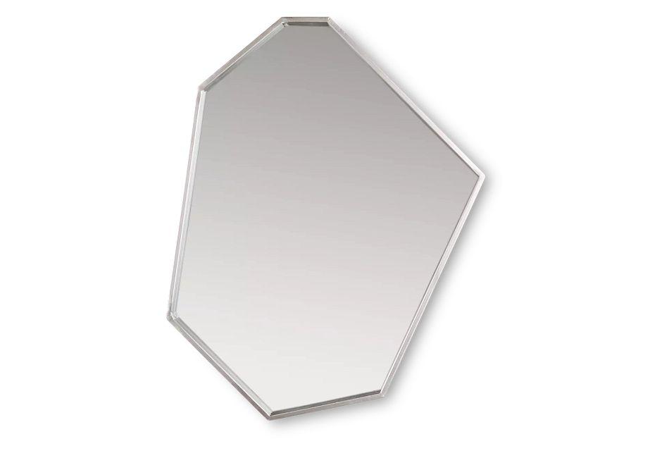 Dax Geometric Metal Mirror