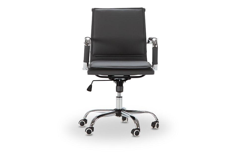 Denver Gray Uph Desk Chair, %%bed_Size%% (3)