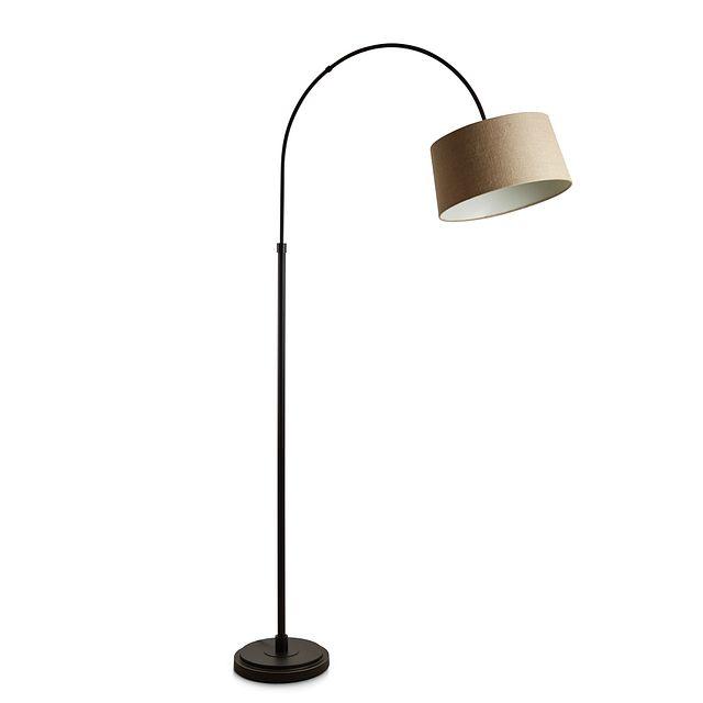Posy Metal Arc Floor Lamp (1)