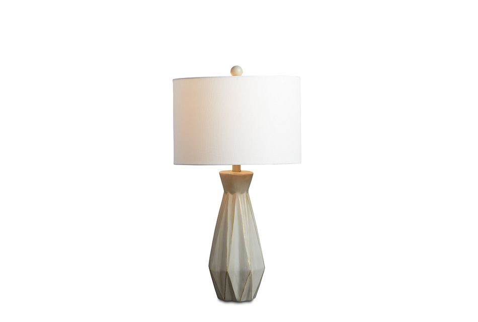 Branka Beige Table Lamp