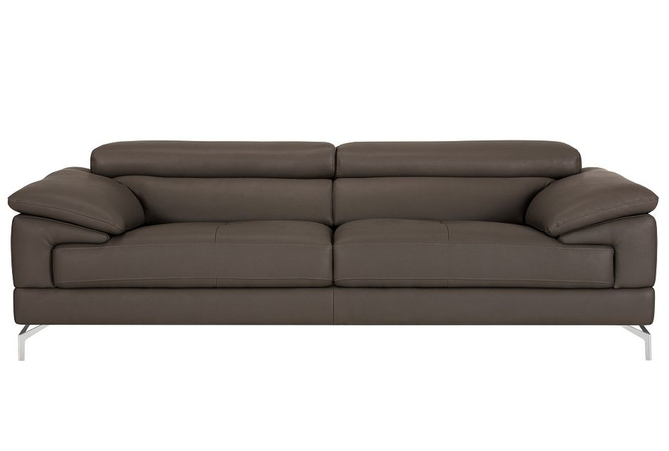 Dash Dark Gray Micro Sofa