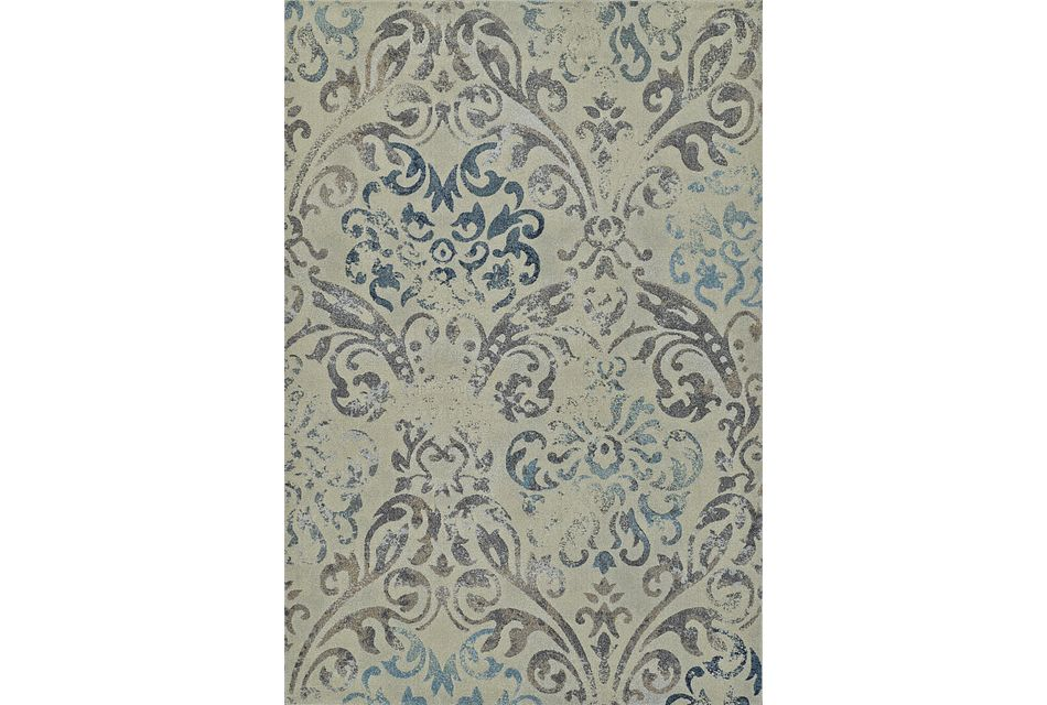 Geneva Gray 8x11 Area Rug