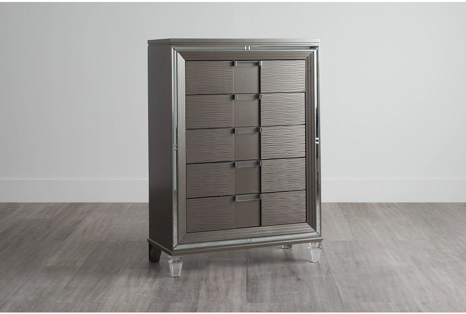 Vegas Gray Chest, One/size