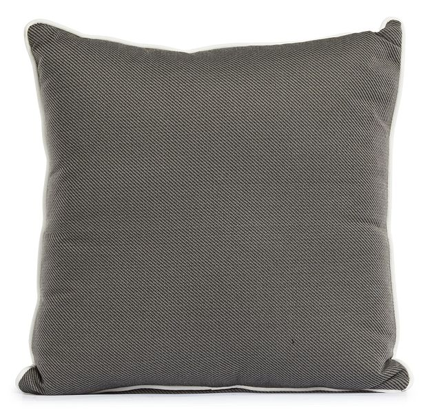 """Forest Gray 20"""" Indoor/outdoor Square Accent Pillow (0)"""