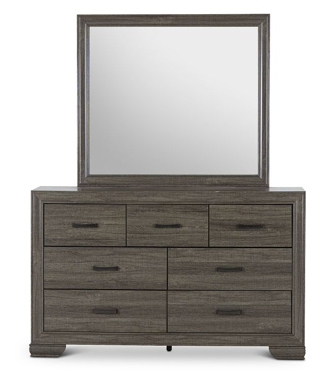 Colson Light Tone Dresser & Mirror (1)