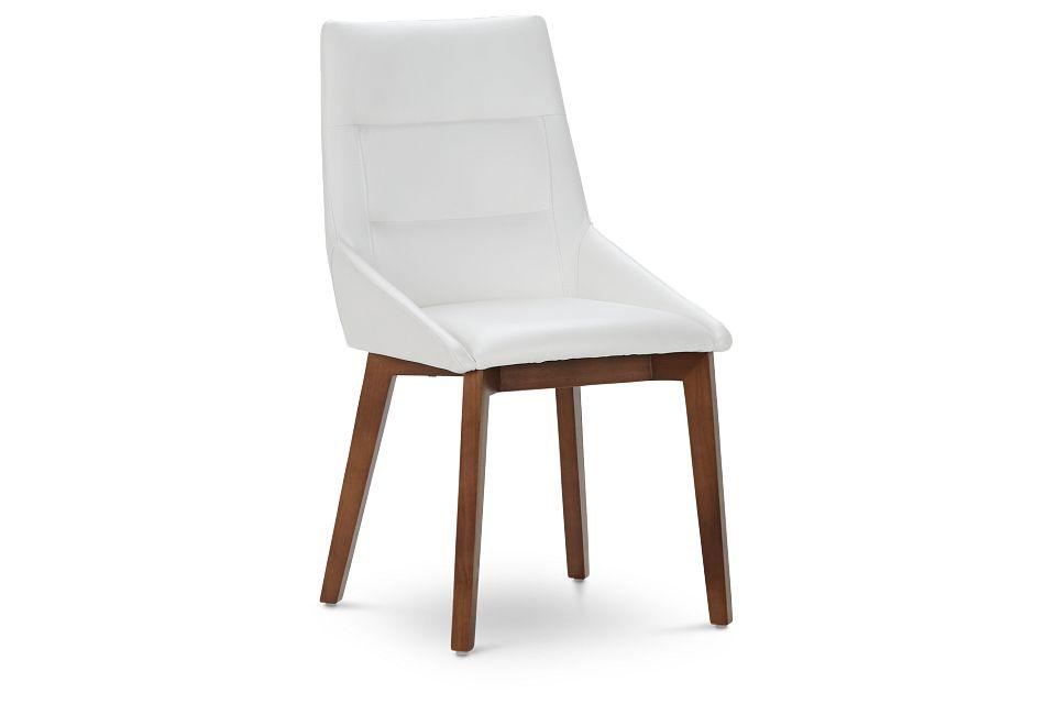 Fresno White Side Chair