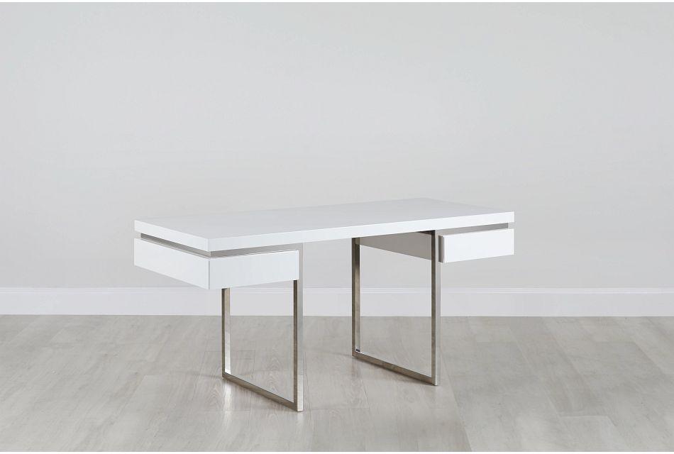 Vancouver White  Desk,  (0)