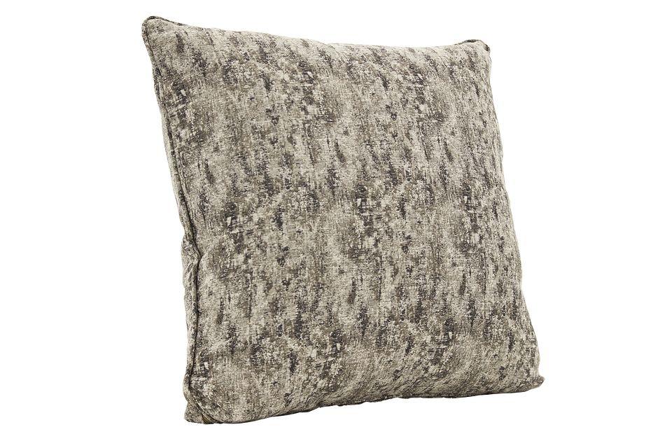 Adriana Dark Gray Down Accent Pillow