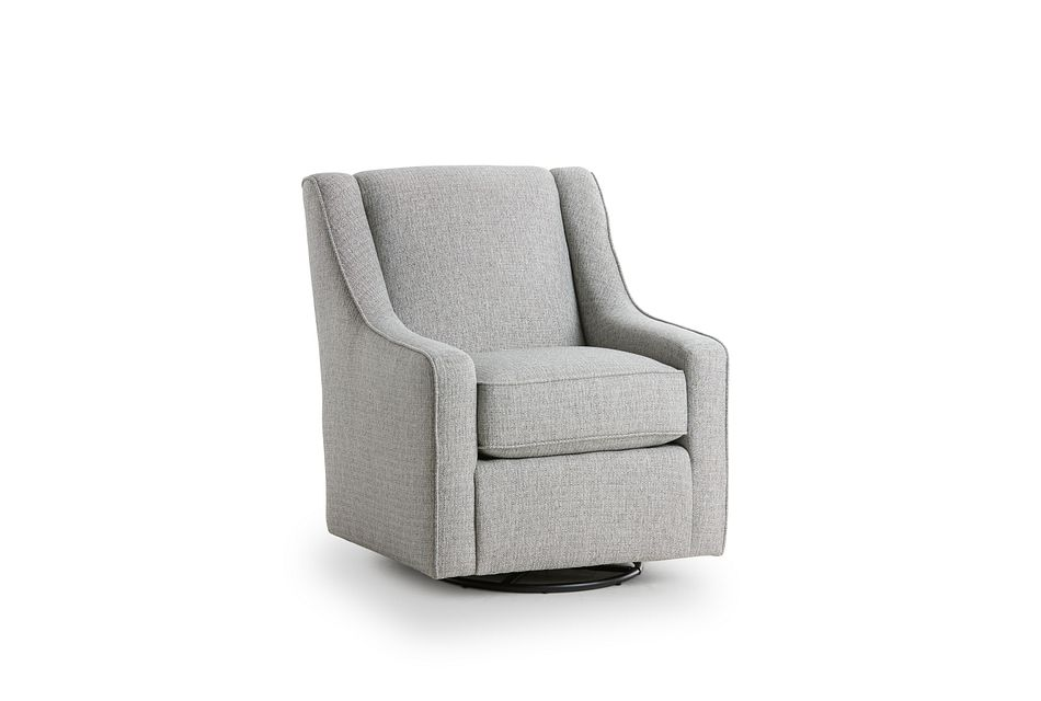 Austin Gray Fabric Swivel Rocker Glider