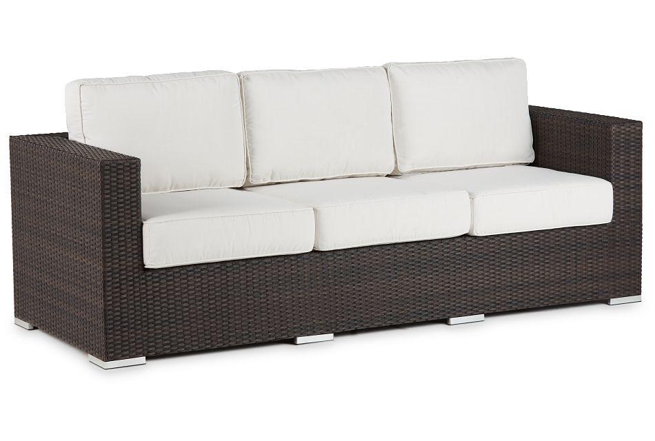 Fina White Sofa