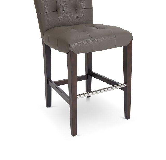 """Shelby Graymicro 24"""" Upholstered Barstool"""