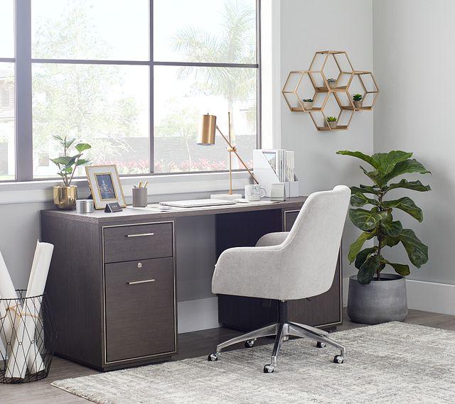 Highline Dark Tone Writing Desk (1)