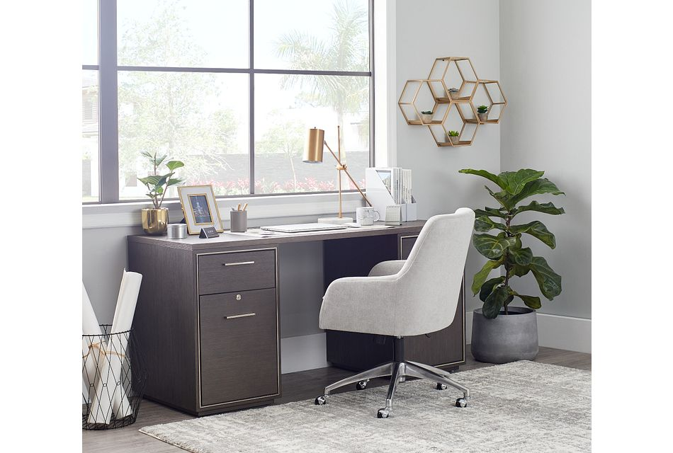 Highline Dark Tone Writing Desk