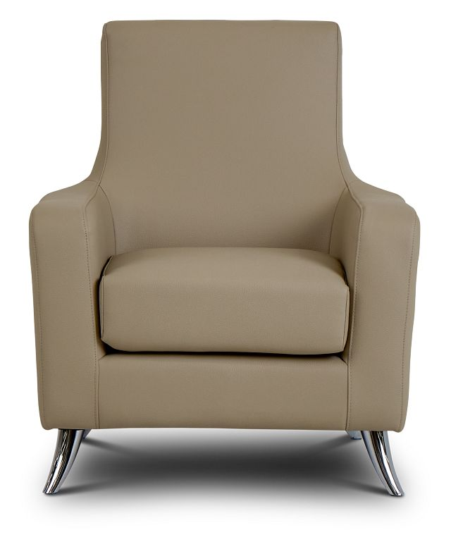 Marquez Taupe Micro Accent Chair (3)