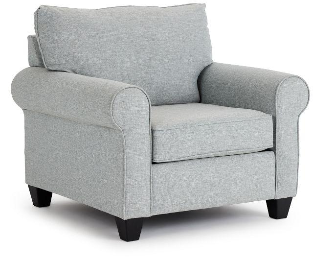 Meadow Light Blue Fabric Chair (1)