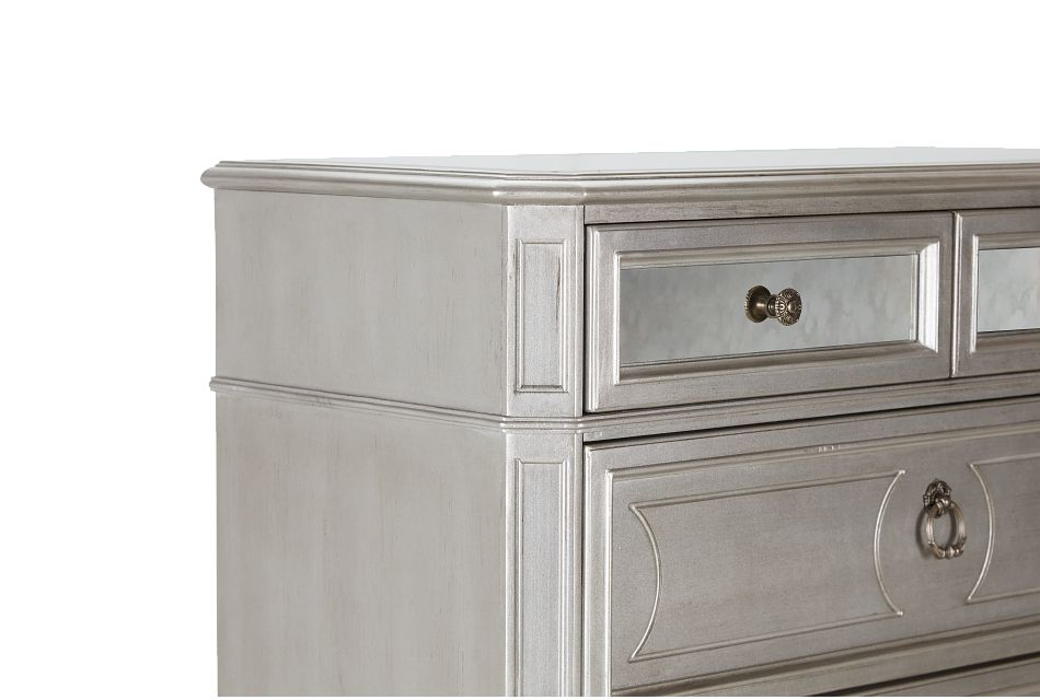 Sloane Silver Drawer Chest
