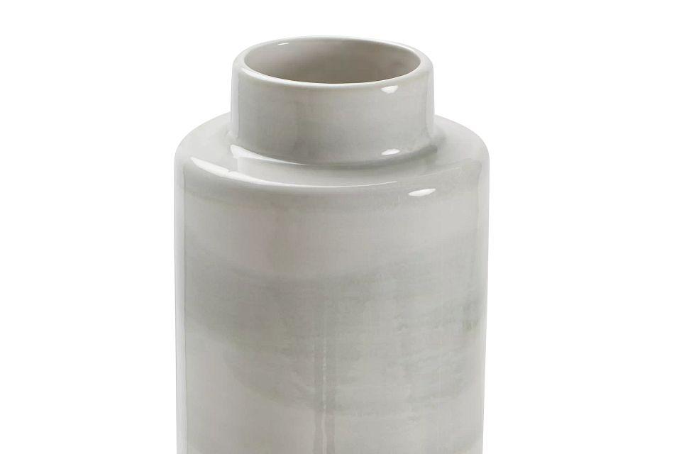 Mazu Green Tall Jar,  (1)
